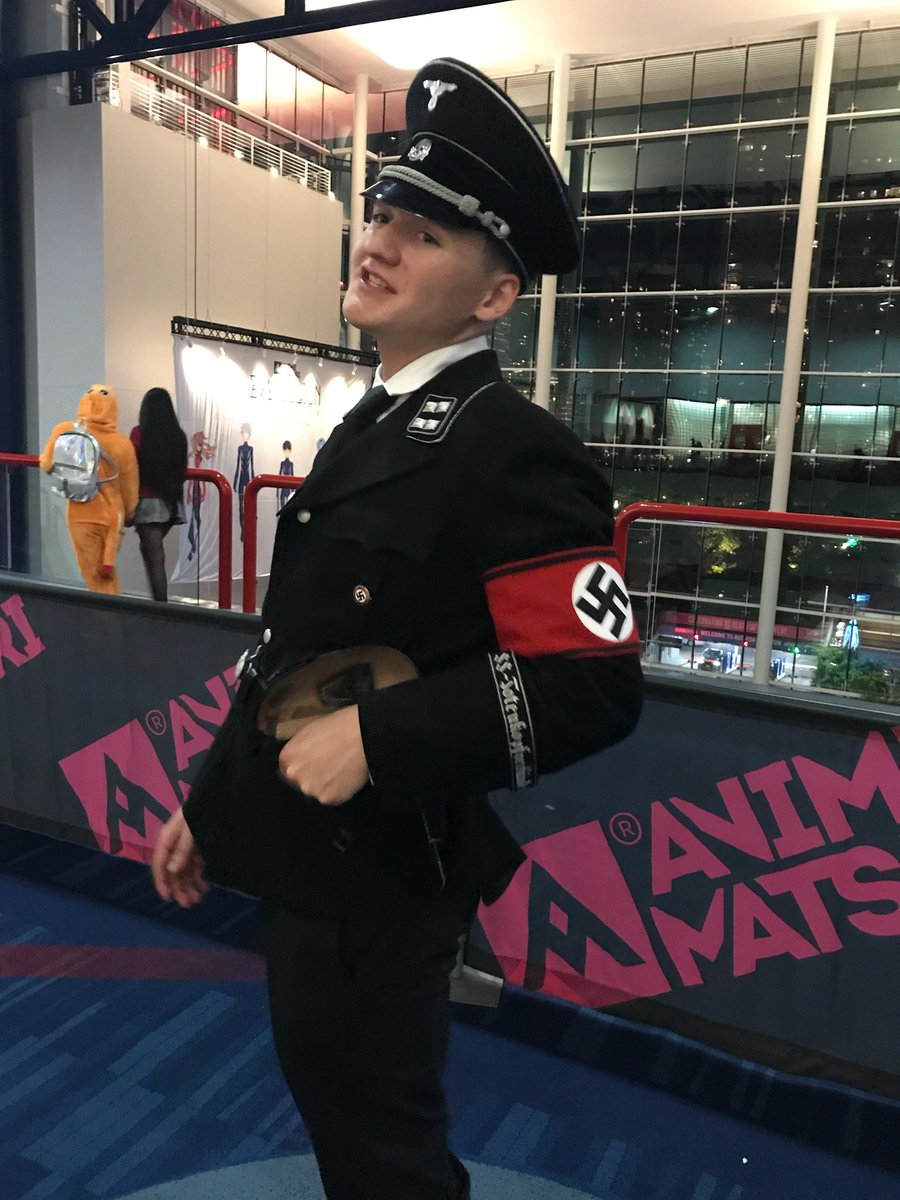 the nazi cosplay that anime matsuri tolerated until someone noticed