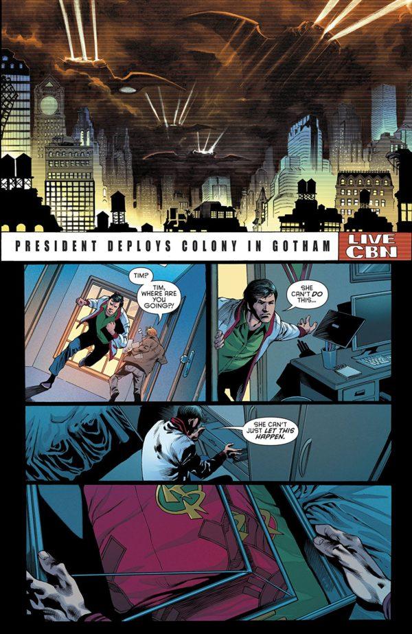 Batman: Detective Comics #977 art by Eddy Barrows and John Kalisz