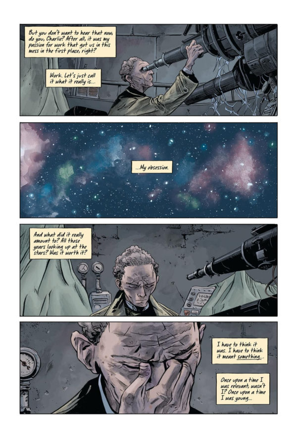 Doctor Star and the Kingdom of Lost Tomorrows #1 art by Max Fiamura and Dave Stewart