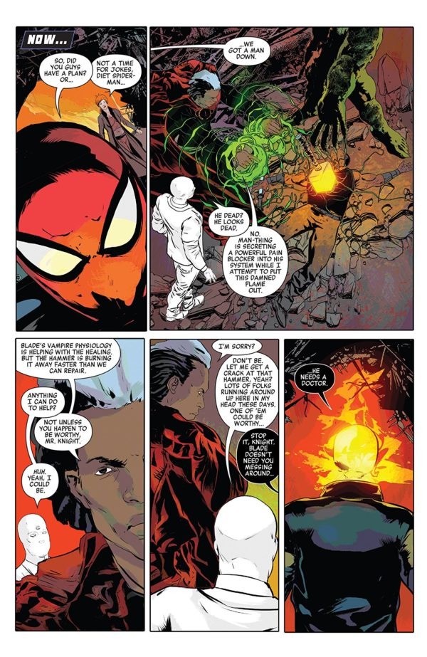 Doctor Strange: Damnation #3 art by Szymon Kudranski and Dan Brown