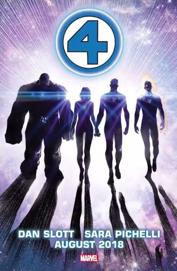 Sara Pichelli Fantastic Four Cover Art