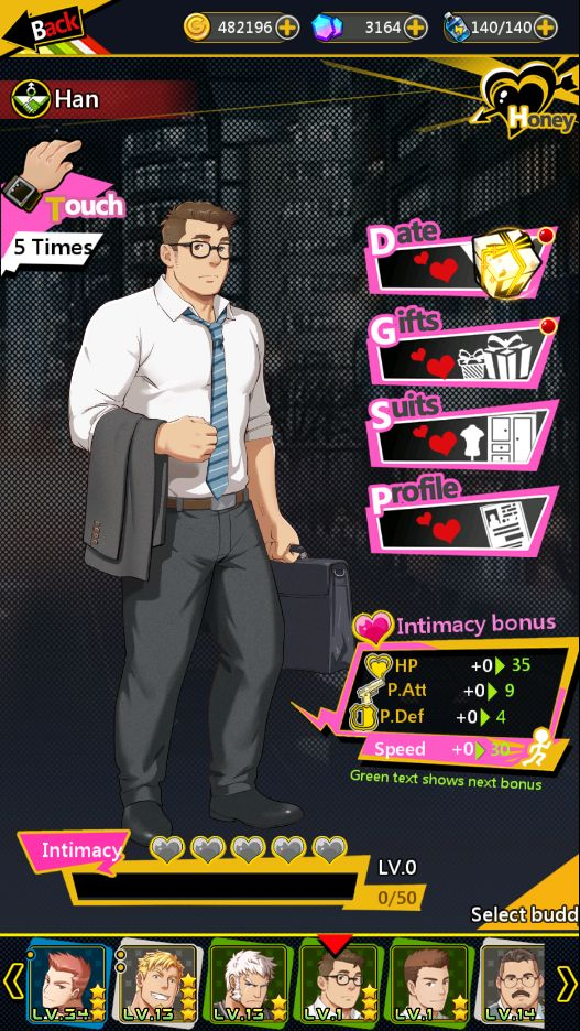 rpg dating games