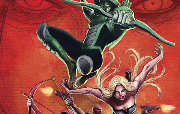Green Arrow #38 cover by Juan Ferreyra
