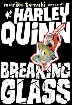 harley quinn: breaking glass cover
