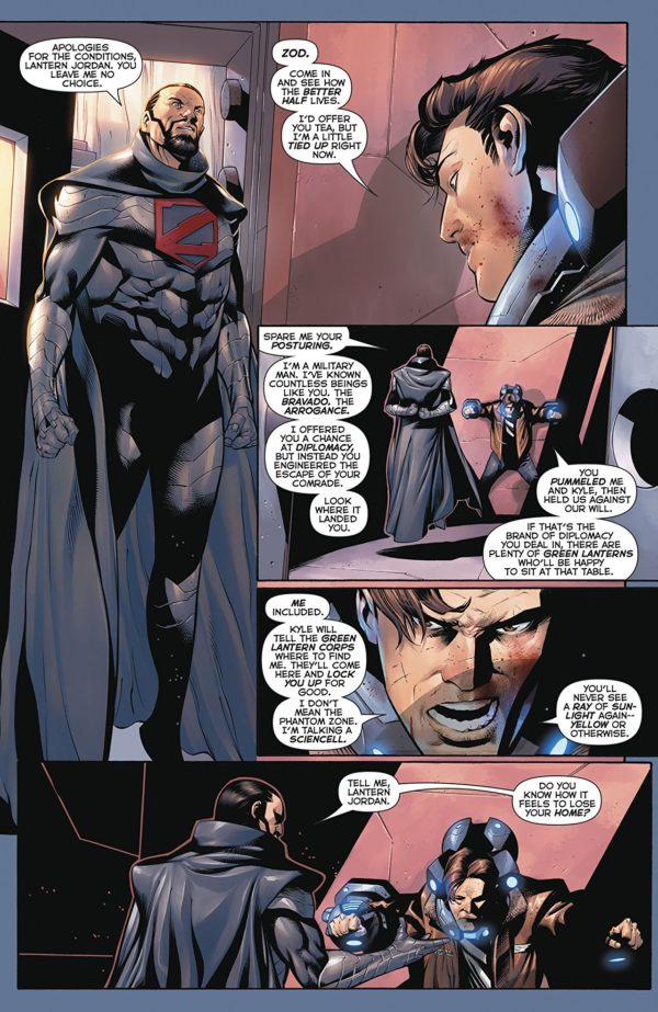 Hal Jordan and the Green Lantern Corps #39 art by Rafa Sandoval, Jordi Tarragona, and Tomeu Morey