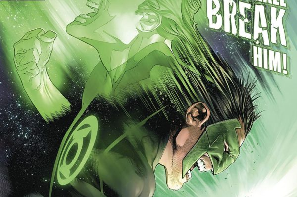 Hal Jordan and the Green Lantern Corps #40 cover by Rafa Sandoval, Jordi Tarragona, and Tomeu Morey
