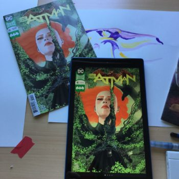 Kindle Fire 10 and Comic Comparison