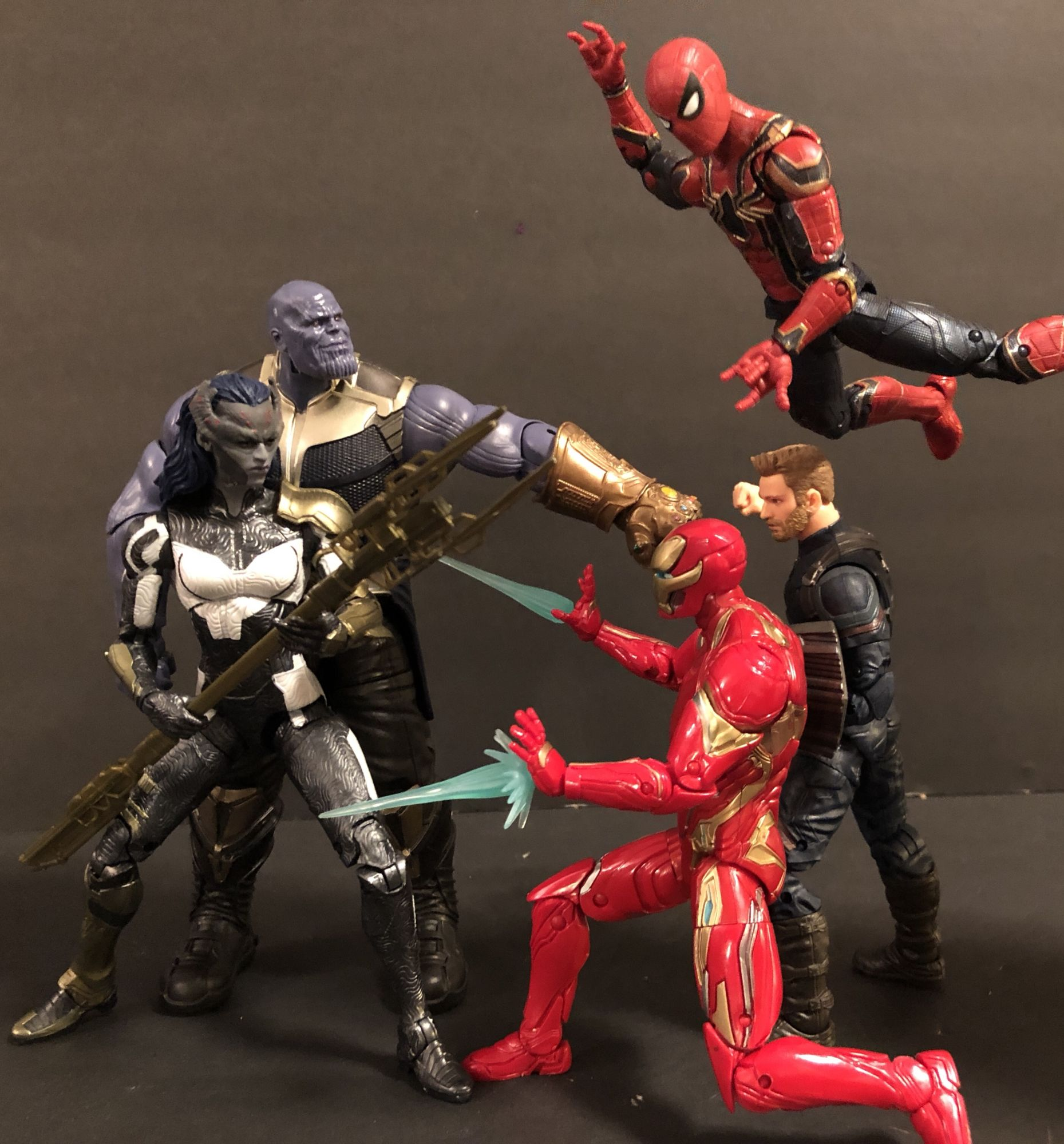 infinity war marvel legends