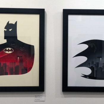 First Look at Mondo\'s Batman: The Animated Series Art Show at SXSW