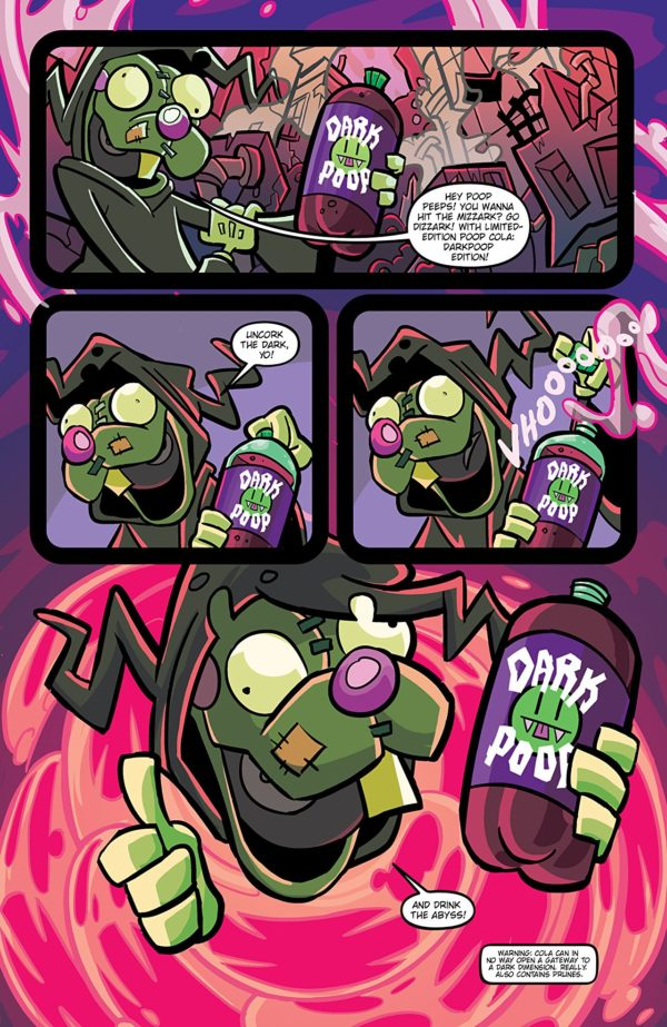 Invader Zim #29 art by Maddie C. and Fred C. Stresing