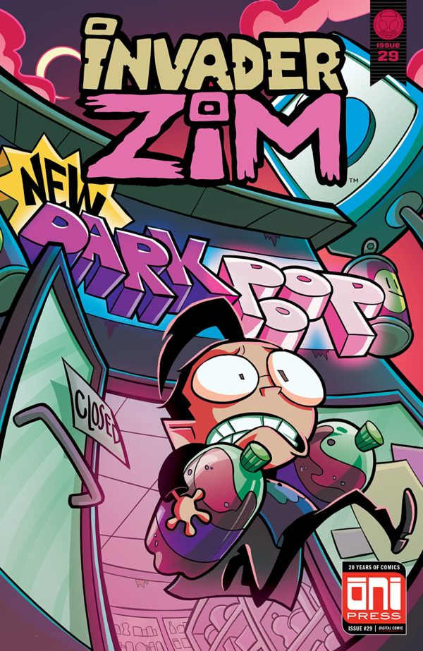 Invader Zim #29 cover by Maddie C