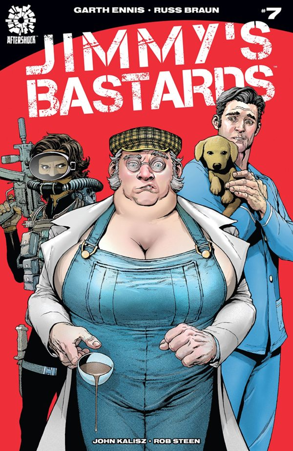 Jimmy's Bastards #7 cover by Andy Clarke