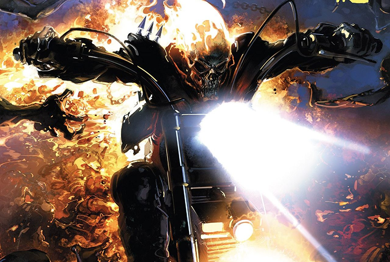 johnny blaze ghost rider #1 review: aimless fun with the spirit of