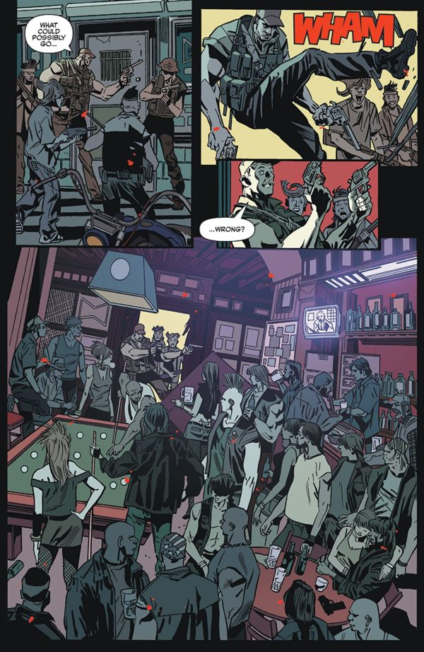 Jughead: The Hunger #4 art by Pat and Tim Kennedy, Bob Smith, and Matt Herms