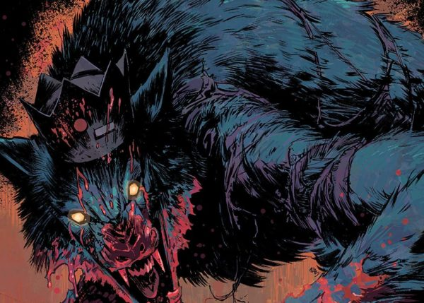 Jughead: The Hunger #4 cover by Adam Gorham