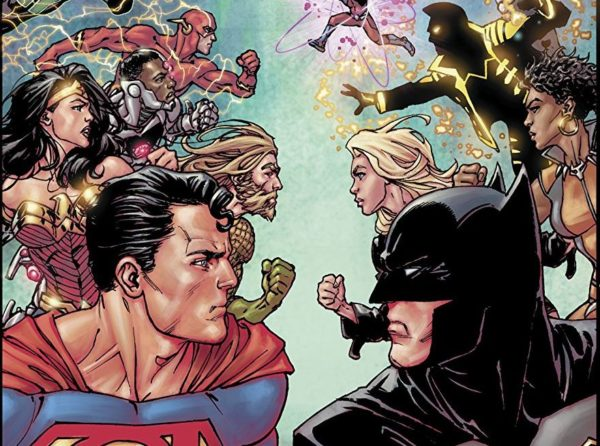 Justice league 40 review not the jl vs jla fight that we expected justice league 40 cover by david yardin stopboris Images