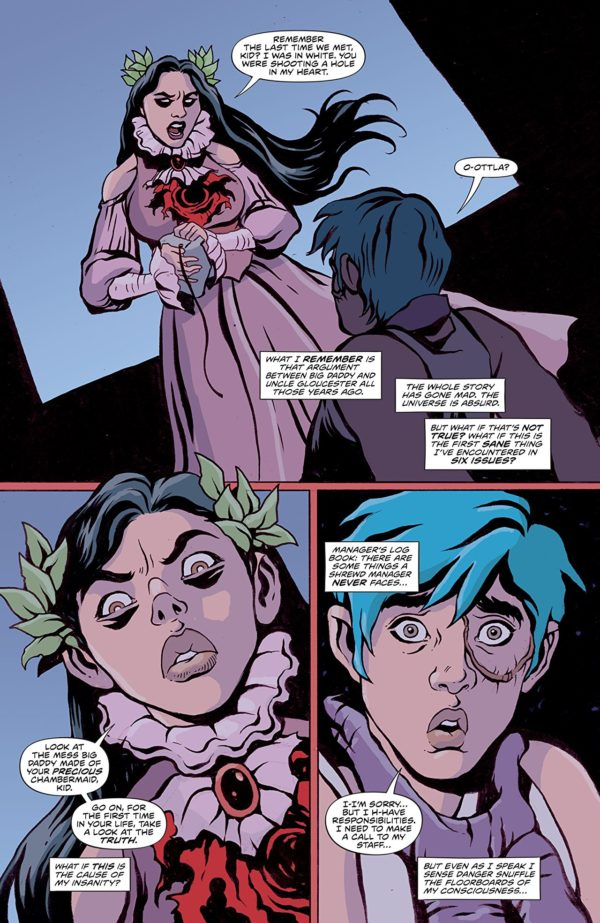 Kid Lobotomy #6 art by Tess Fowler, Lee Loughridge, and Dee Cunniffe
