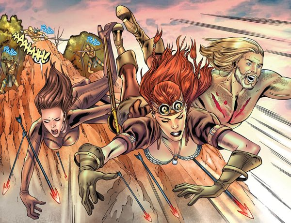 Legenderry Red Sonja #2 art by Igor Lima and Adriano Augusto