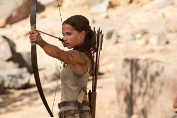 Tomb Raider - Alicia Vikander as Lara Croft
