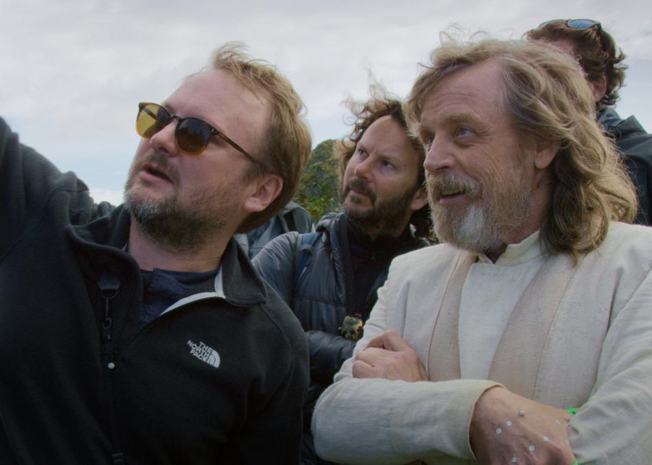 Director and the Jedi movie still