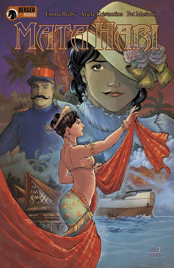 Mata Hari #2 cover by Ariela Kristantina