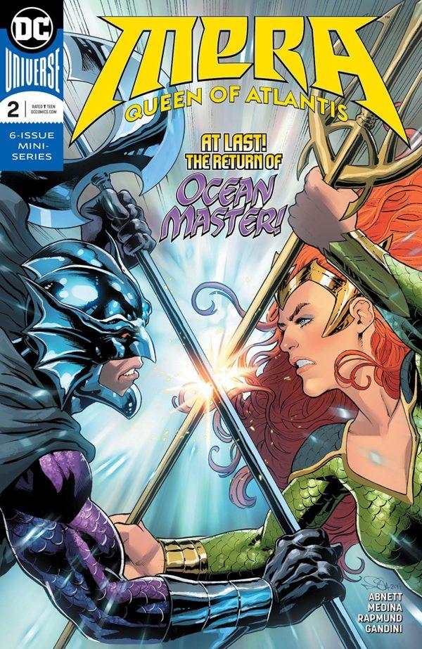 Mera: Queen of Atlantis #2 cover by Nicola Scott and Romulo Fajardo Jr.