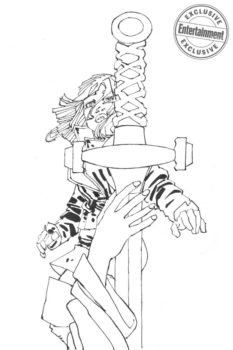 frank miller cursed king arthur