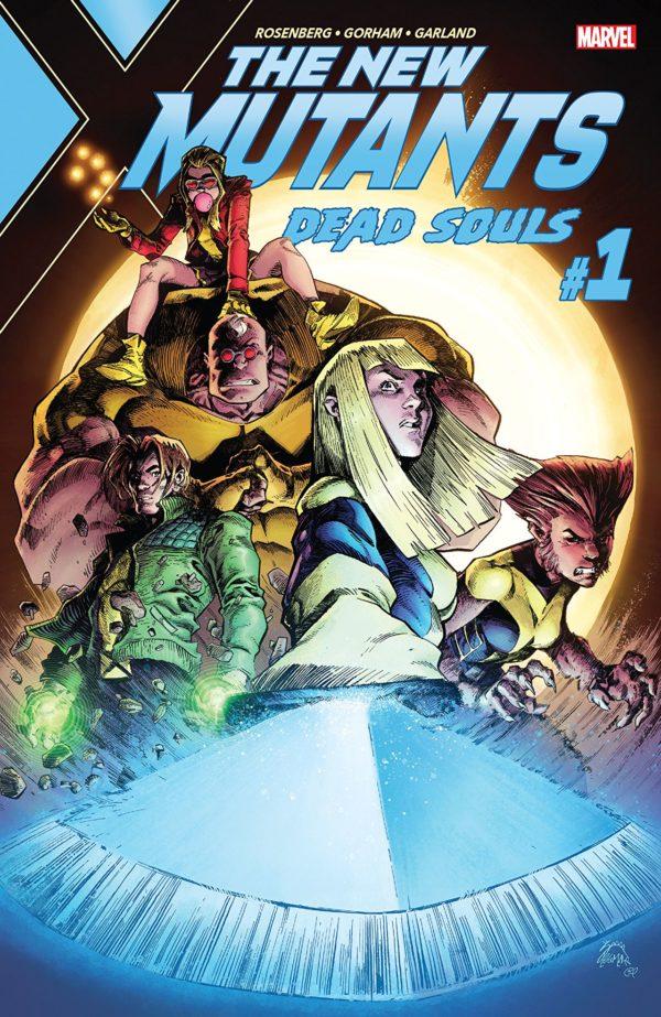 New Mutants: Dead Souls #1 cover by Ryan Stegman