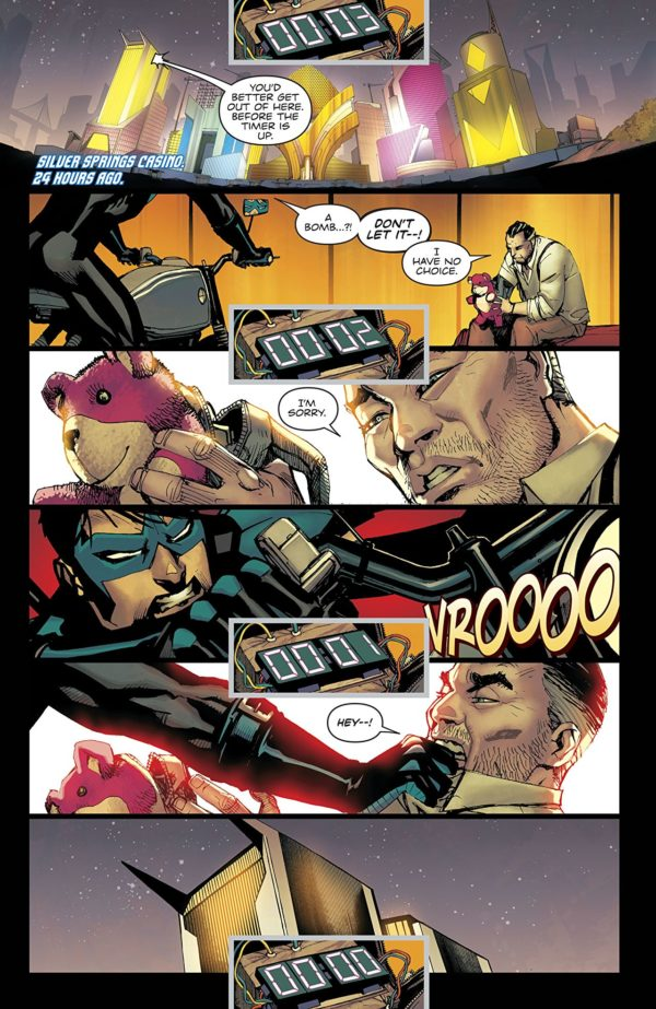 Nightwing #41 art by Bernard Chang and Marcelo Maiolo