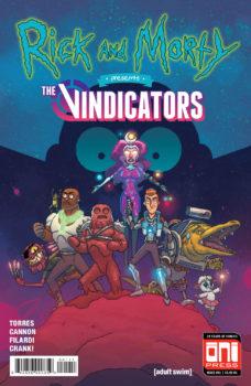 rick and morty vindicators