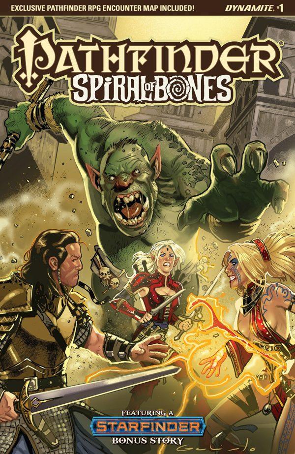 Pathfinder: Spiral of Bones #1 cover by Diego Galindo
