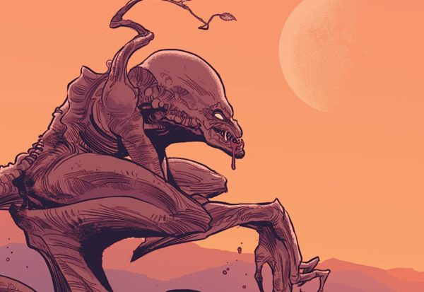 Pumpkinhead #2 Cover by Kyle Strahm and Greg Smallwood