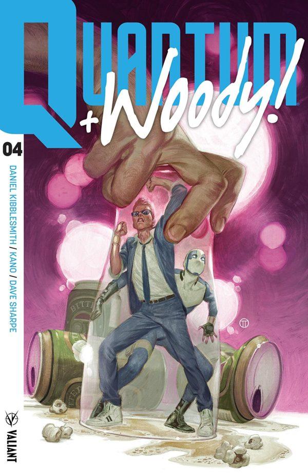 Quantum + Woody #4 cover by Julian Totino Tedesco