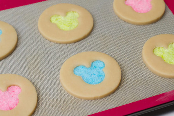 mickey mouse stained glass cookies