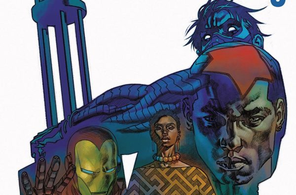 Rise of the Black Panther #3 cover by Brian Stelfreeze