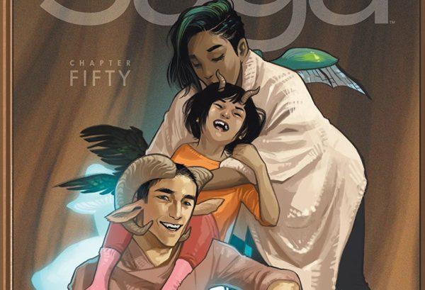 ComiXology Bestseller List: Saga #50 cover by Fiona Staples