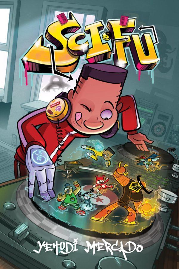 Sci-Fu cover by Yehudi Mercado