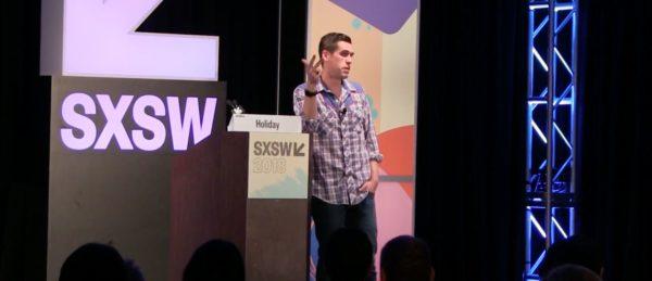 Ryan Holiday talks at SXSW