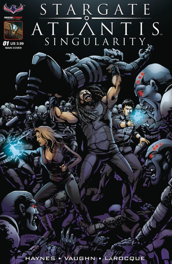 Stargate Atlantis: Singularity #1 cover by Greg LaRocque