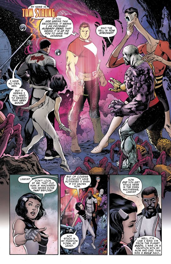 Terrifics #2 art by Ivan Reis, Vicente Cifuentes, and Marcelo Maiolo