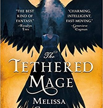 Tethered Mage Trade Paperback Cover