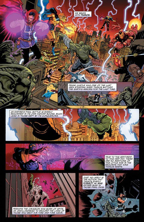 Thanos #16 art by Geoff Shaw and Antonio Fabela