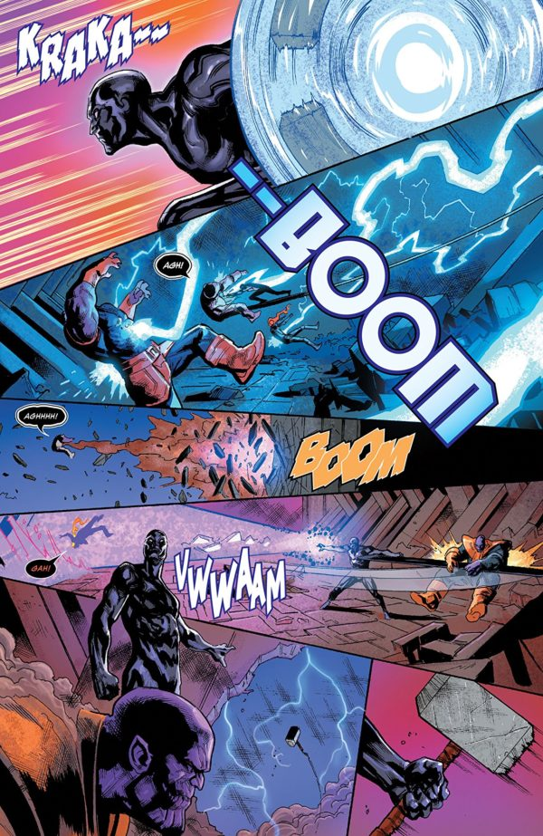 Thanos #17 art by Geoff Shaw and Antonio Fabela