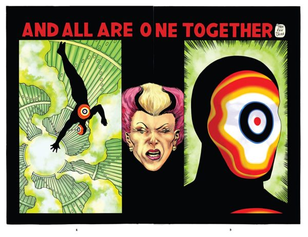 The One #2 art by Rick and Kirby Veitch