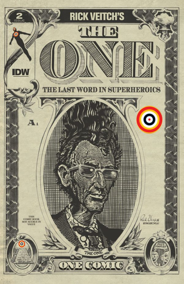The One #2 Cover by Rick Veitch
