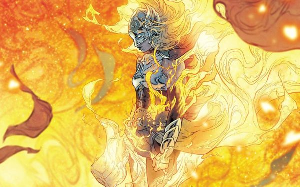 The Mighty Thor #705 cover by Russell Dauterman and Matthew Wilson