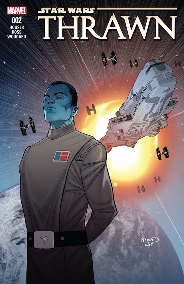 Star Wars: Thrawn #2 cover by Paul Renaud