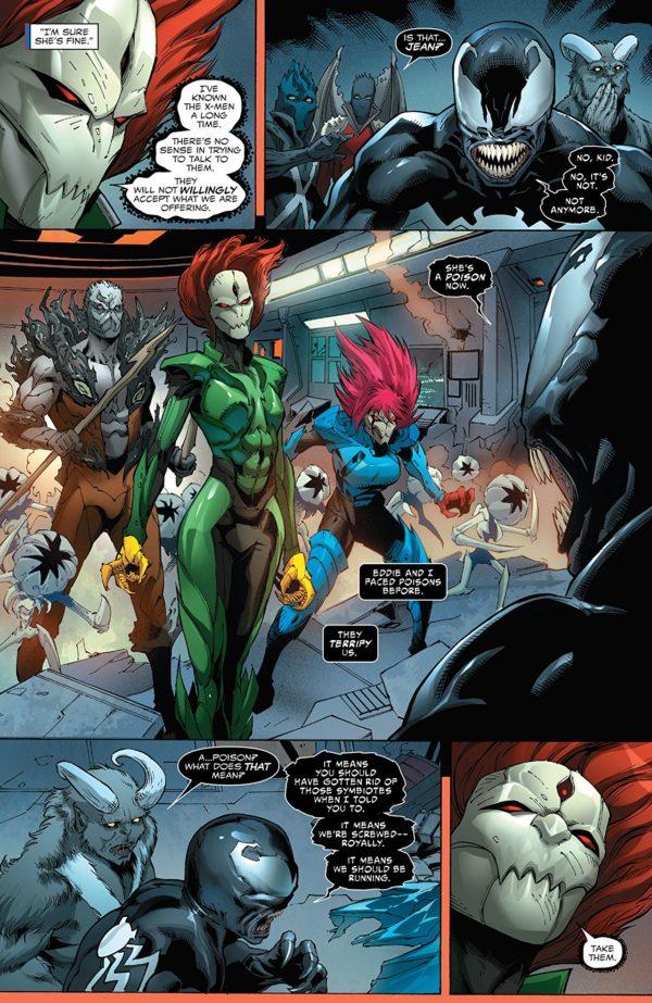 Venom #163 art by Edgar Salazar, Allen Martinez, and Dono Sanchez-Almara