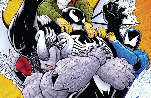 Venom #163 cover by Will Robson and Morry Hollowell