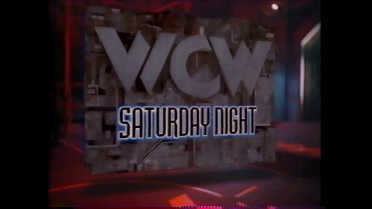 WCW Saturday Night logo